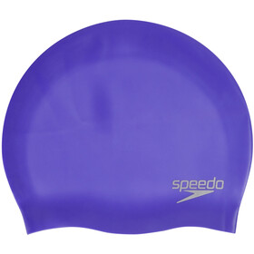 speedo Plain Moulded Bonnet de bain en silicone, ultra violet